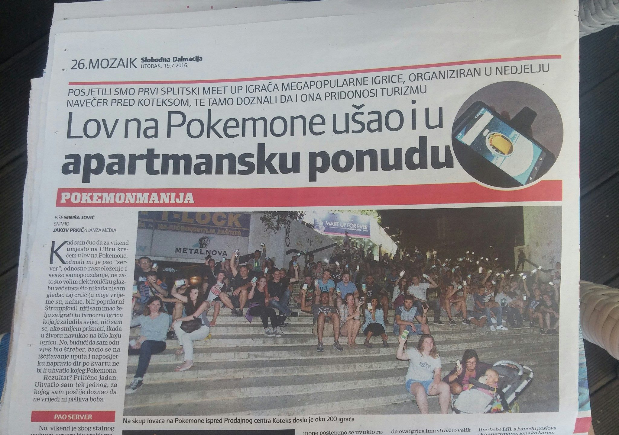 The first Croatian Pokemon Meetup in Split