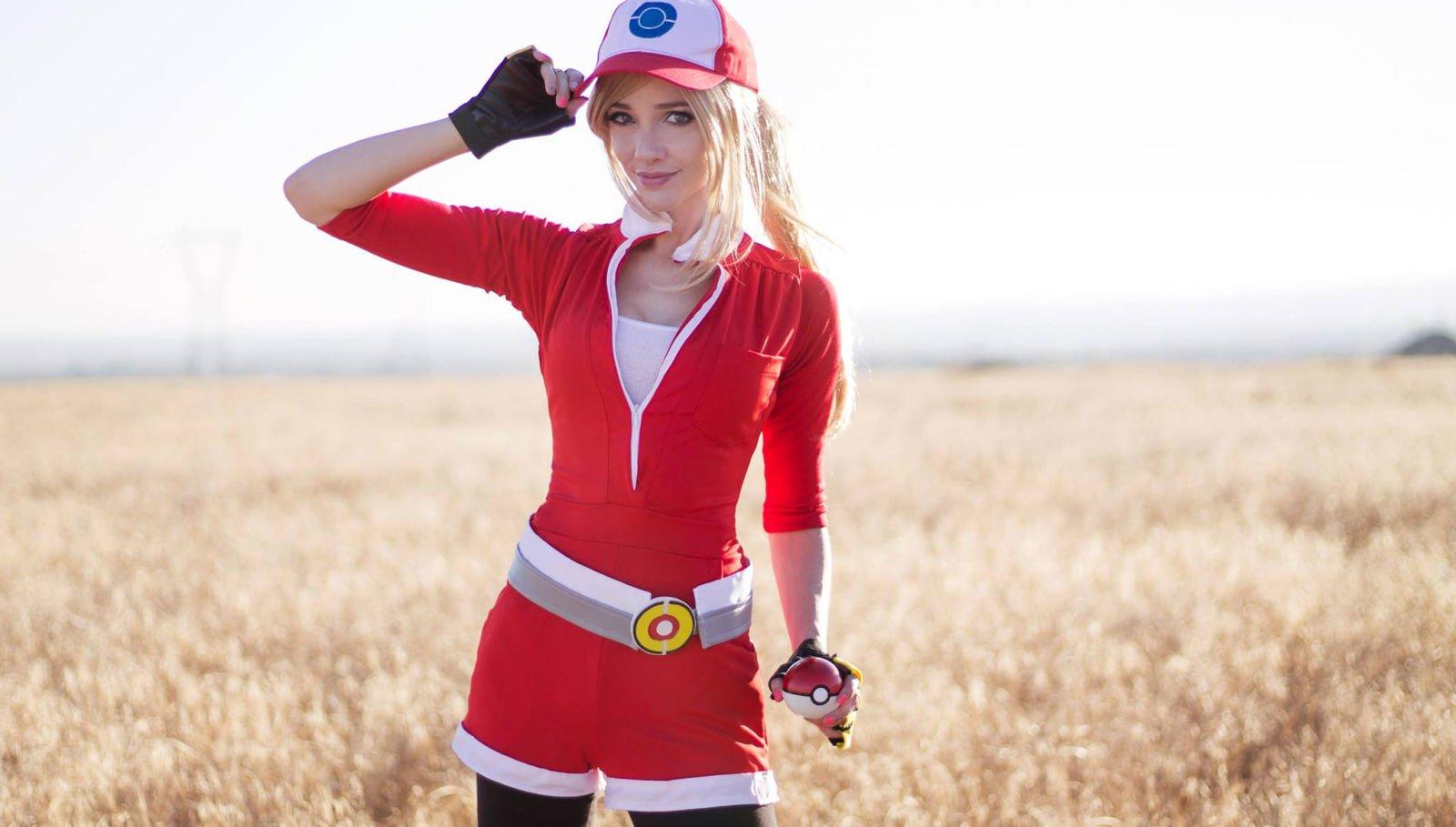 pokemon girl trainer costume wwwimgkidcom the image
