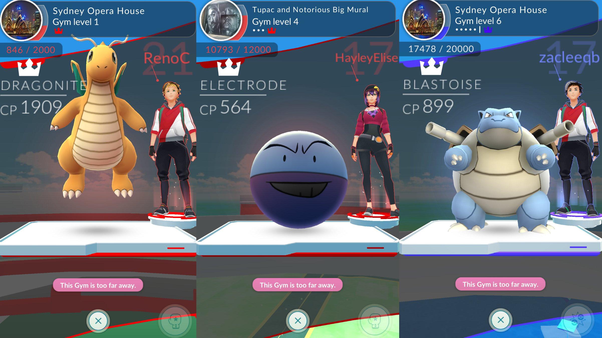 Pokemon GO Gym Guide