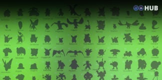 pokemon silhouette