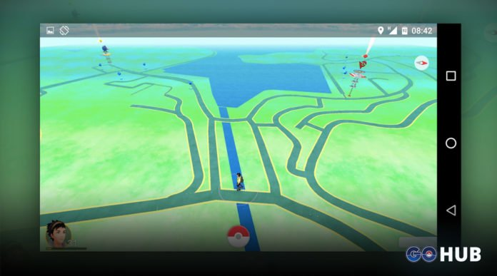 Pokemon GO Landscape Mode Android and iOS