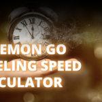 Pokemon GO Leveling Speed Calculator