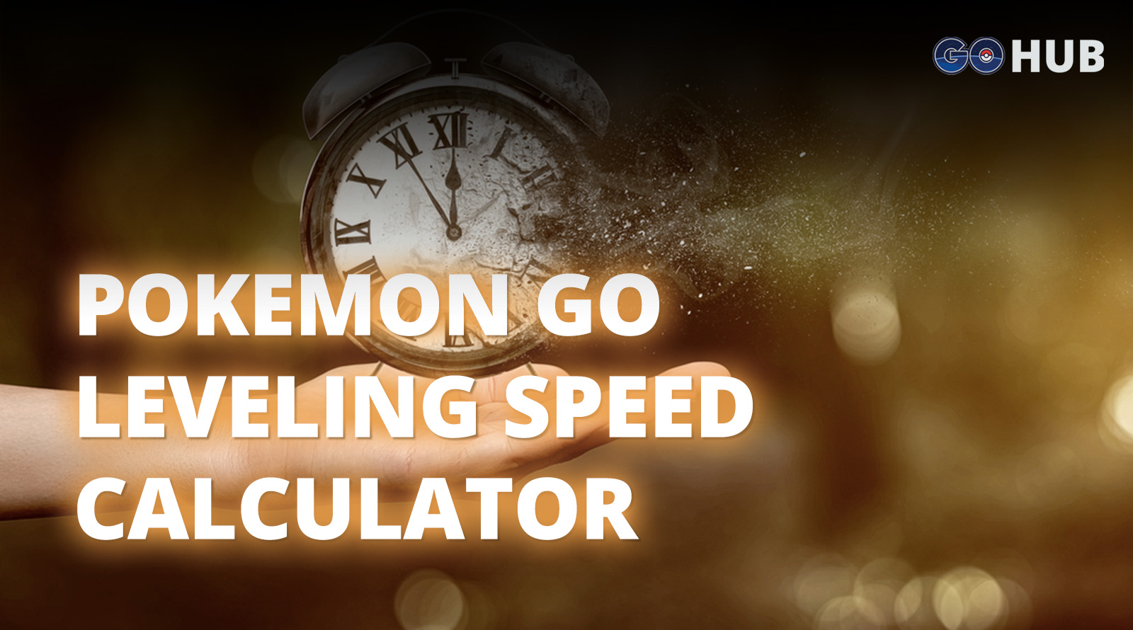 Pokemon GO Leveling Speed Calculator