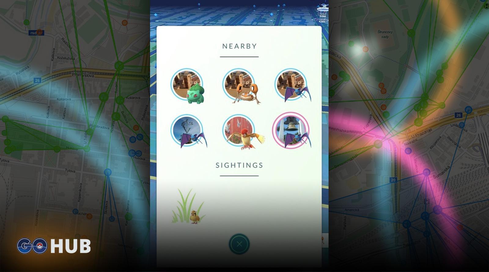 Pokemon GO Sightings Tracker
