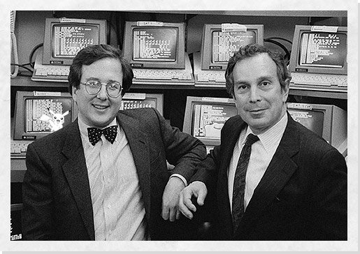Bloomberg trading in 1980s