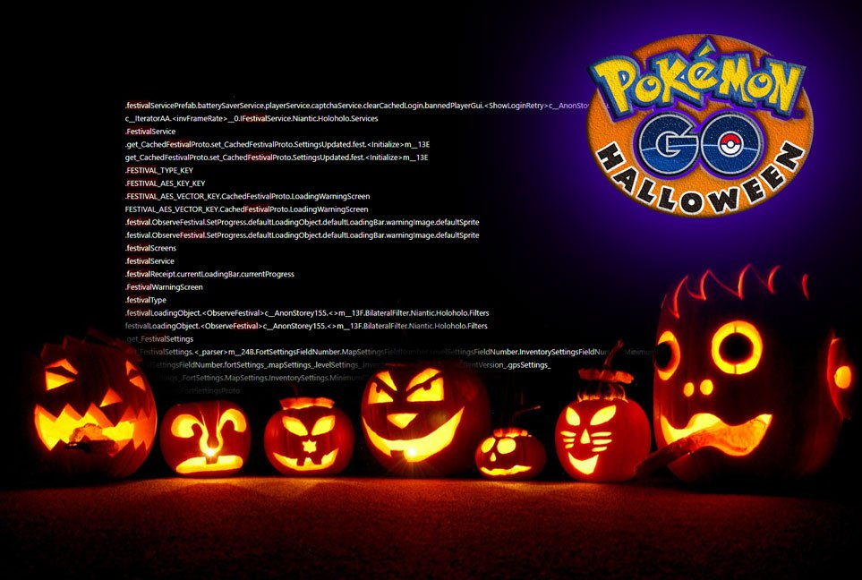 Researching the code behind the Pokemon GO Halloween event ...