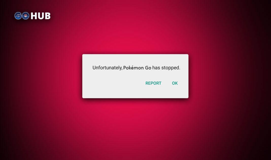 Pokemon GO Has Stopped