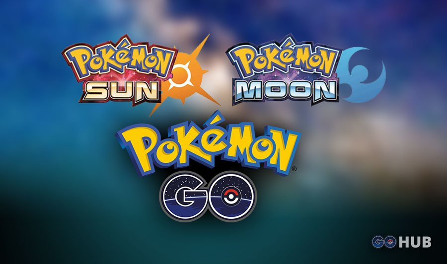 Pokemon GO integration with Pokemon Sun and Moon