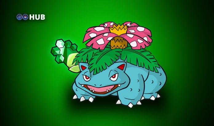 Pokemon GO Top 5 Grass
