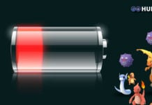 Pokemon GO Battery Drain