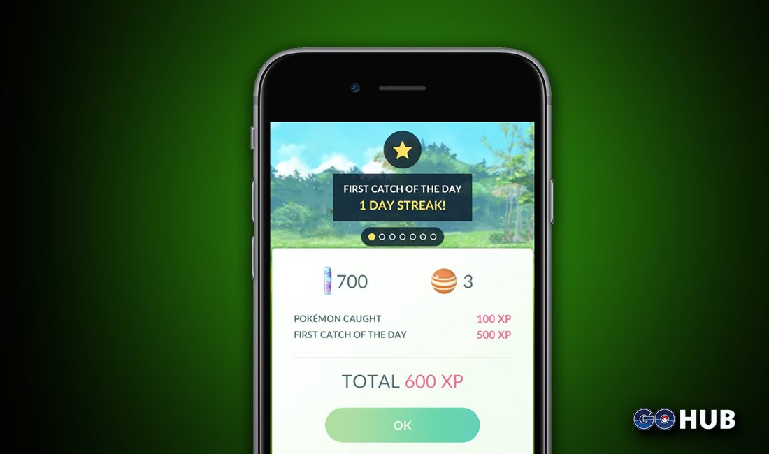 Pokemon GO Daily Bonus
