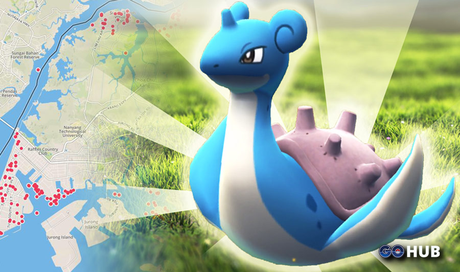 Lapras biome (spawn area) has been discovered! | Pokemon GO Hub