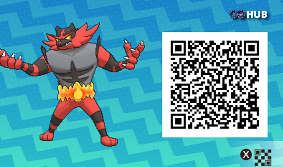 Pokémon Sun and Moon QR Codes | Pokemon GO Hub