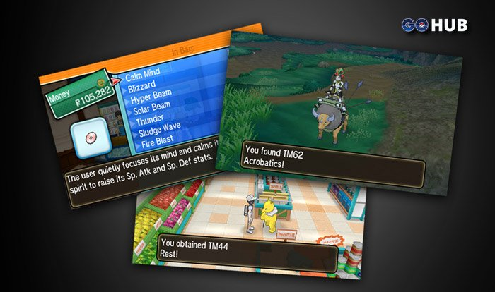 Pokémon Sun and Moon TM Location