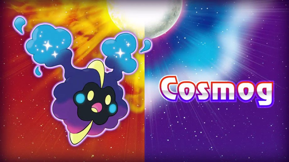 Cosmog Evolution Line