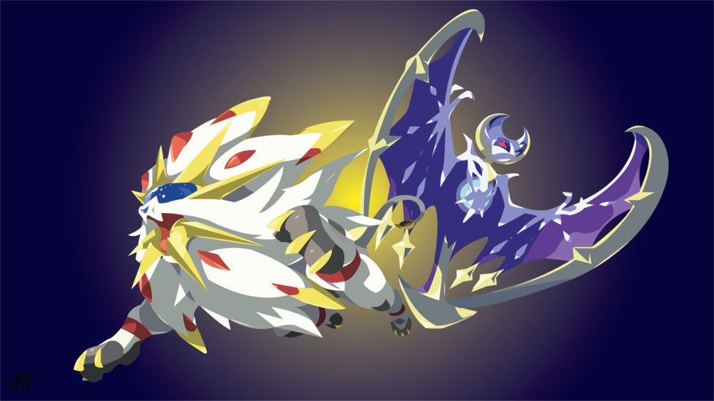 Sun and Moon Legendary Pokémon