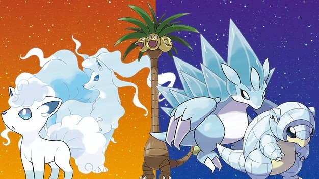 Pokémon Sun and Moon Alola Forms and Stats | Pokemon GO Hub