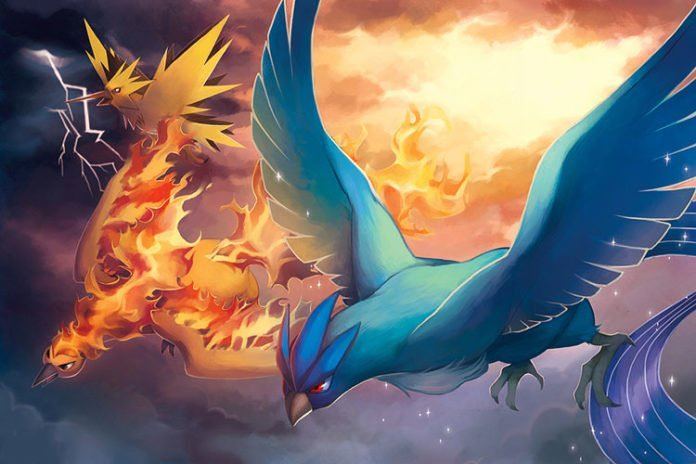 Pokemon GO Legendary Birds