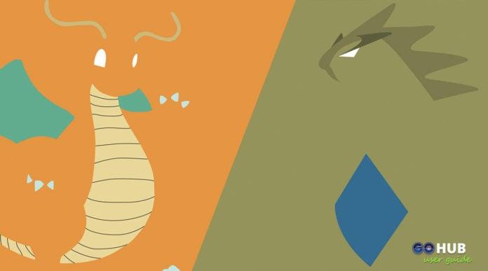 Pokemon GO Tyranitar vs Dragonite