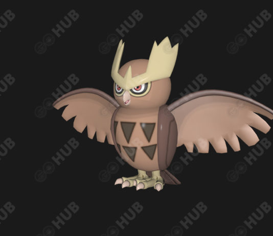 Pokemon GO Noctowl Gen 2