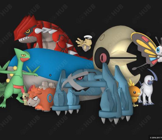 Pokémon GO Gen 3