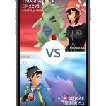 Pokémon GO Vs screen