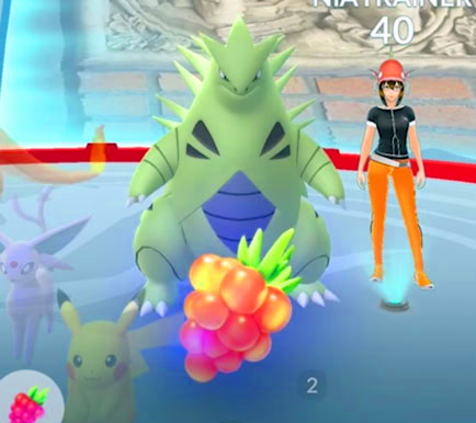 Pokémon GO Golden Razz Berry