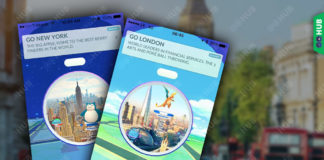 Pokémon GO London New York Sponsored Pokéstops