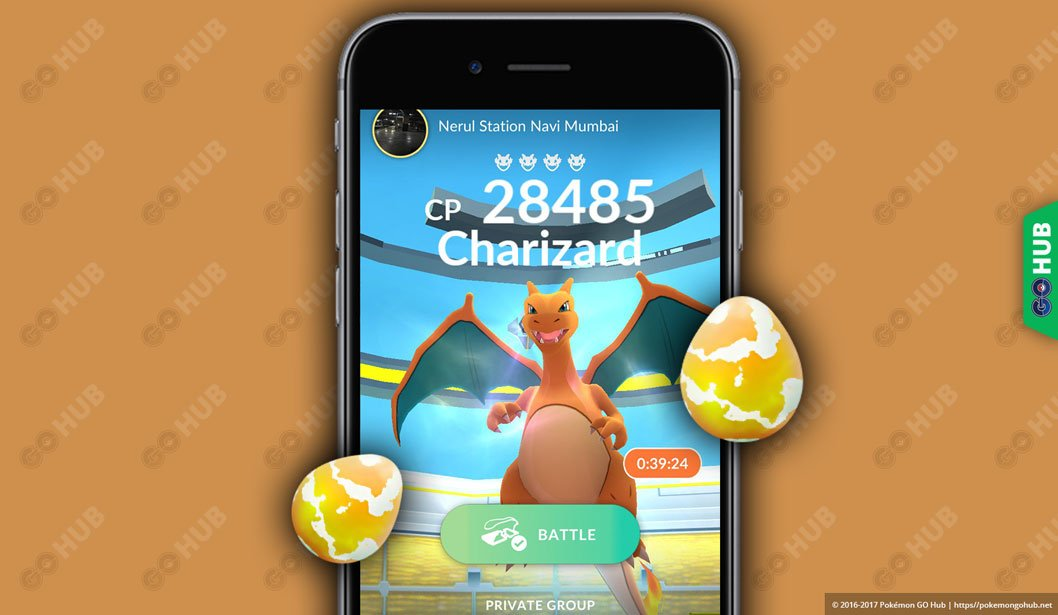 Pokémon GO Rare Raid Boss List