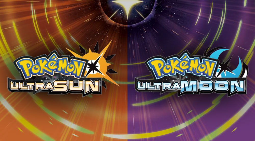 pokémon ultra sun and pokémon ultra moon edition