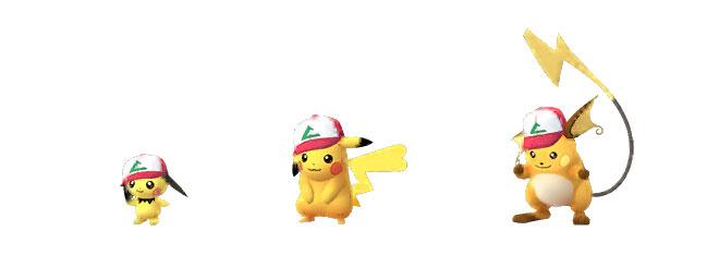 Anniversary Pichu, Pikachu and Raichu
