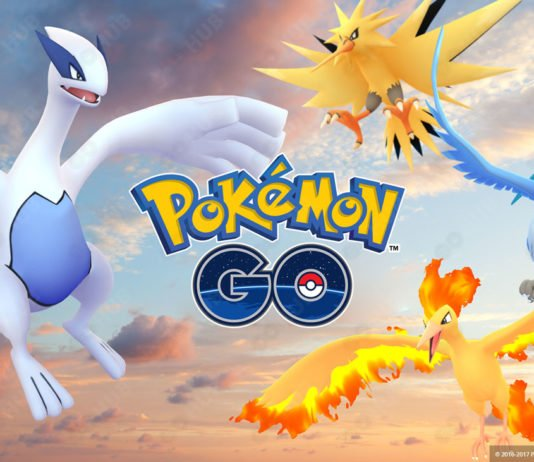 Legendary Pokémon GO Raids