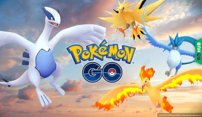 Legendary Pokémon GO Raids