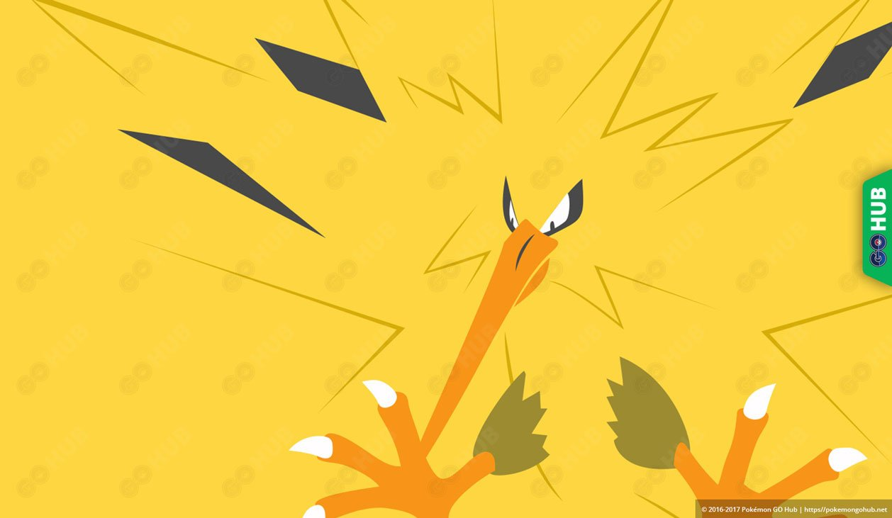 Zapdos Counters Raid Guide: best counters, catch rate