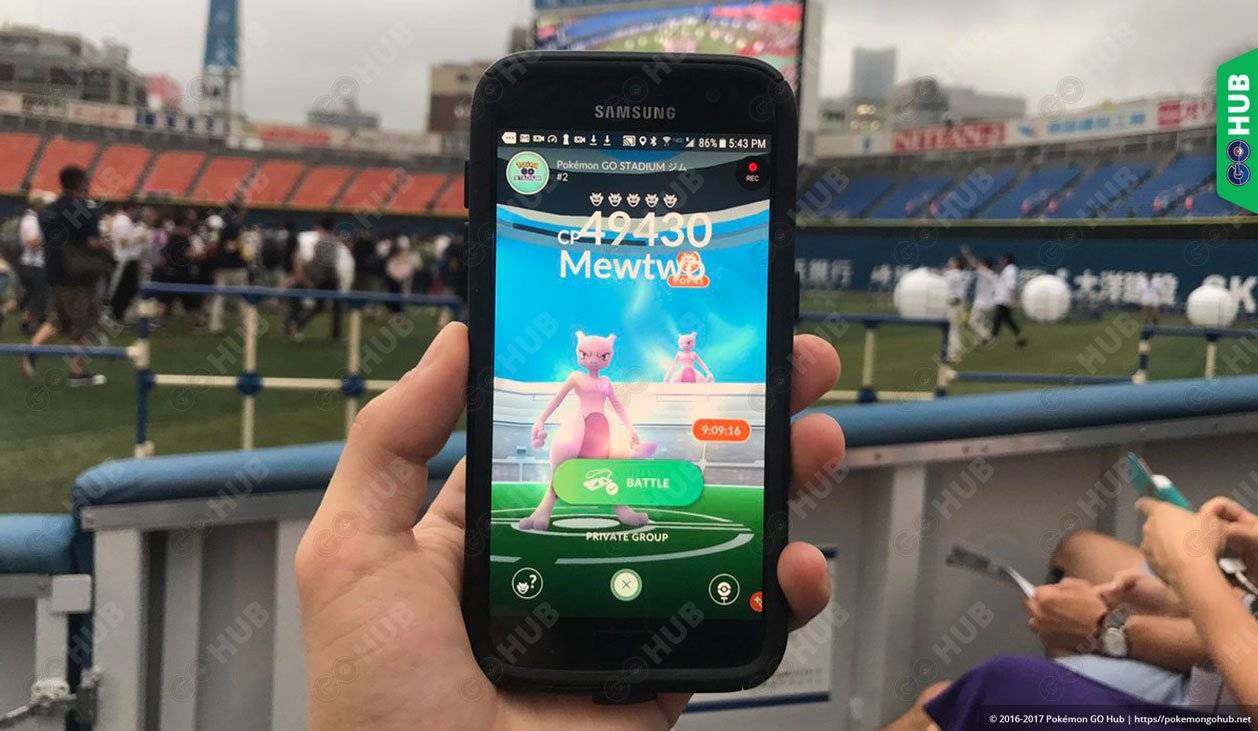 Mewtwo released in Pokemon GO