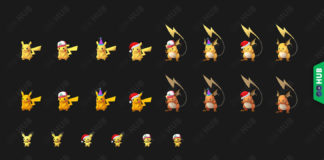 Pokémon GO Shiny Pikachu, Raichu and Pichu
