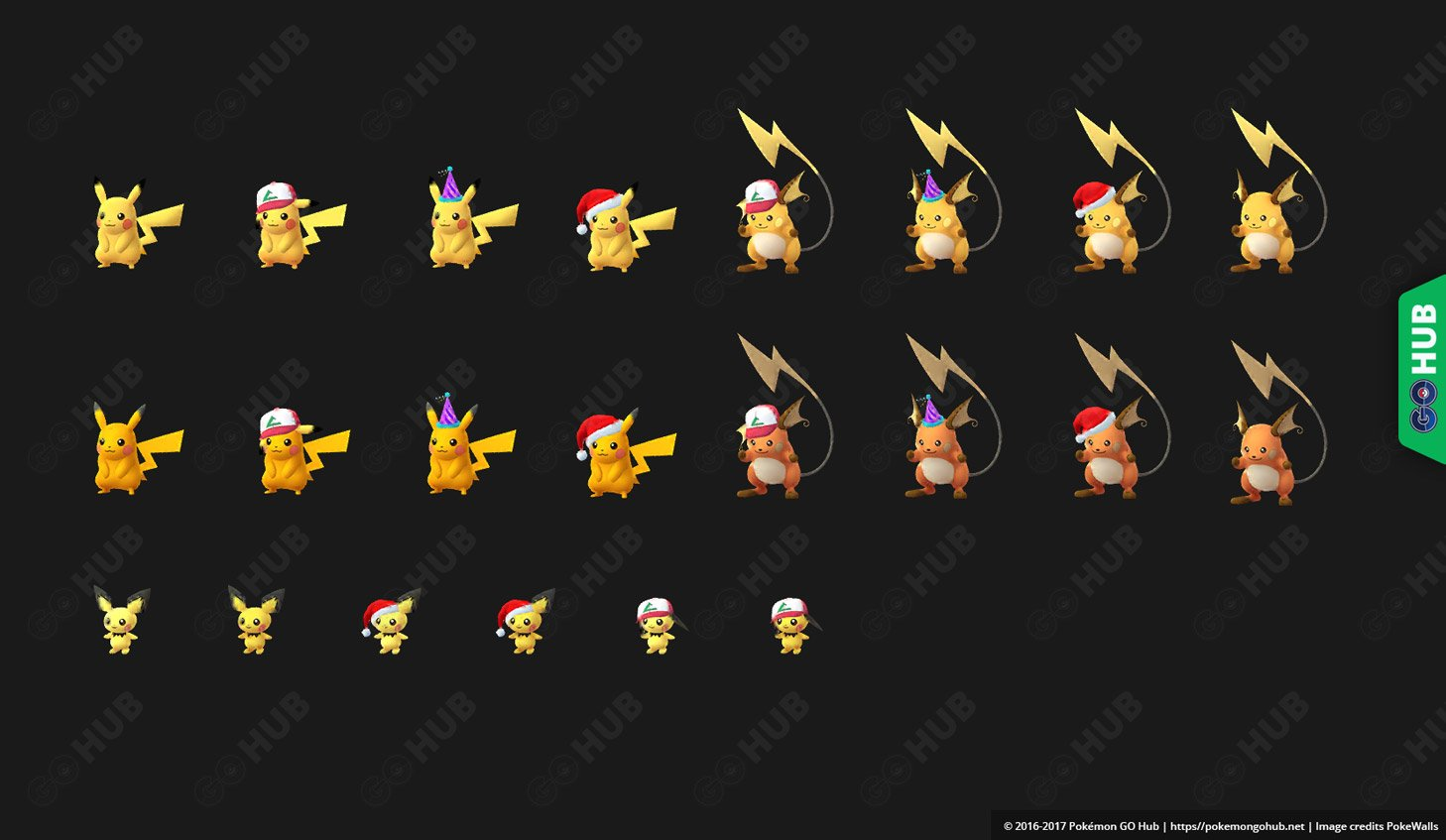 Shiny Pichu Pikachu Raichu Discovered Apps Network Traffic