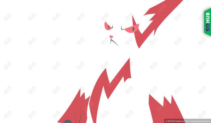 Pokemon GO Zangoose Max CP Stats Moves