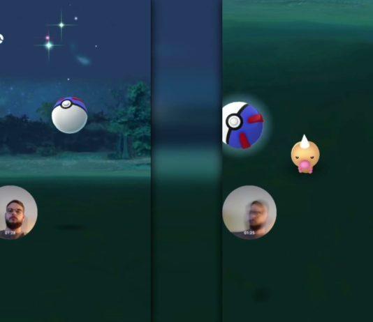 Pokémon GO Double Bounce Catch