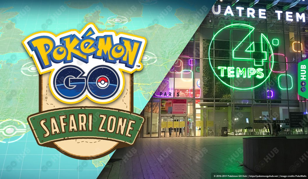 Pokémon GO Safari Zone Paris