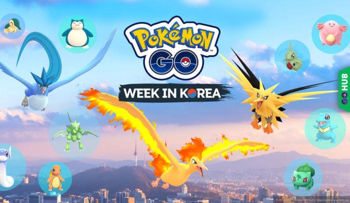 Pokémon GO Korea event Pokémon Festa