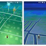 Rural game play comparison: Draconius GO (left) vs Pokemon GO (right)