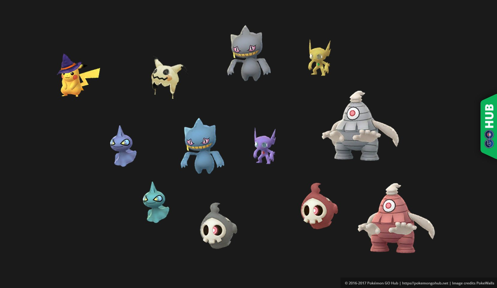 Cloyster Evolution Chart