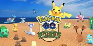 Pokémon GO Tattori Sand Dunes Safari Zone