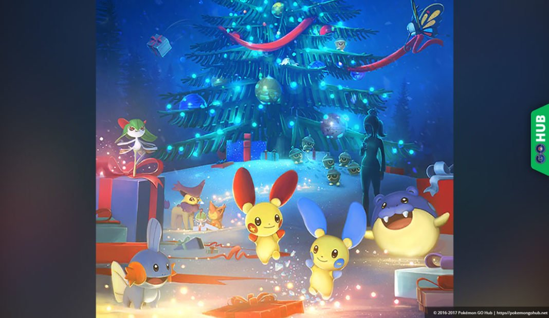 Pokémon GO Generation III Christmas event