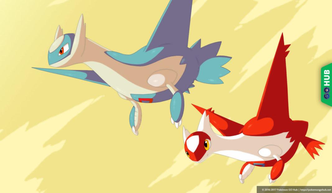 Pokémon GO Latias and Latios