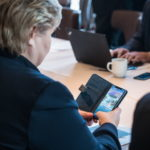 "Norwegian Prime Minister ""caught"" playing Pokémon GO before a meeting with Trump"