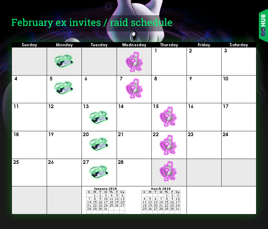 Mewtwo raid schedule