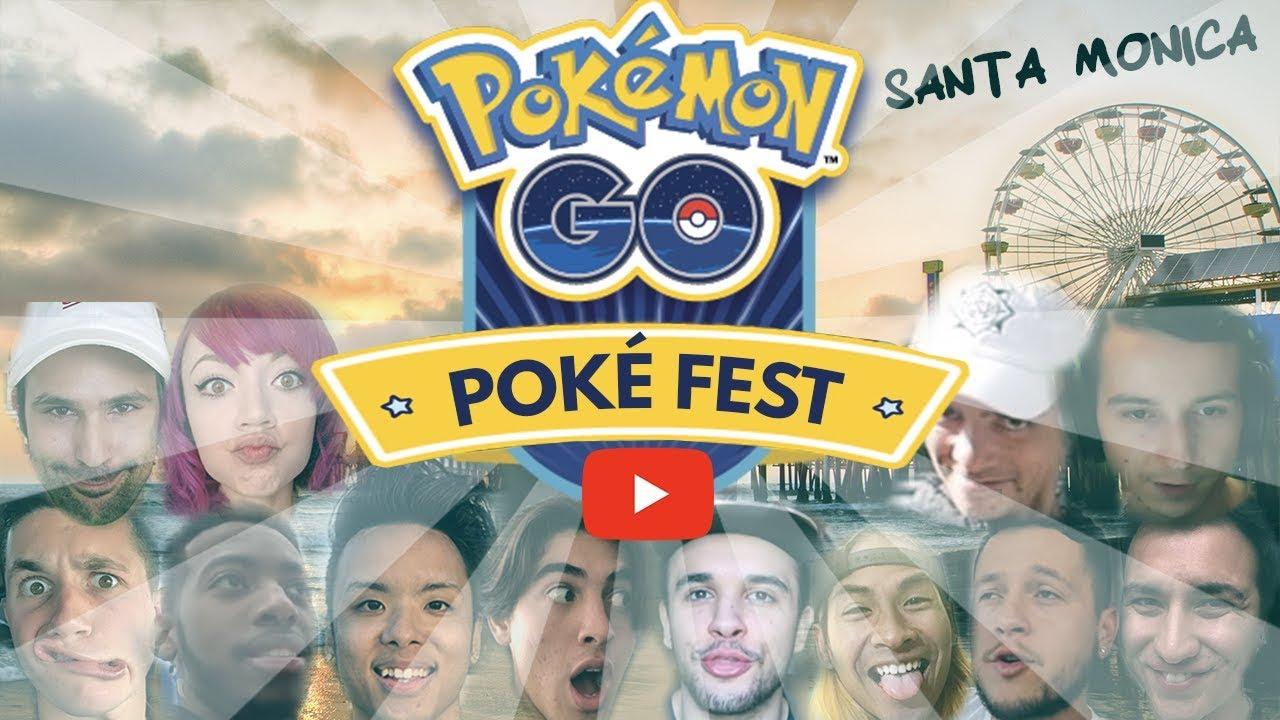 Youtube Pokémon GO PokéFest 2018