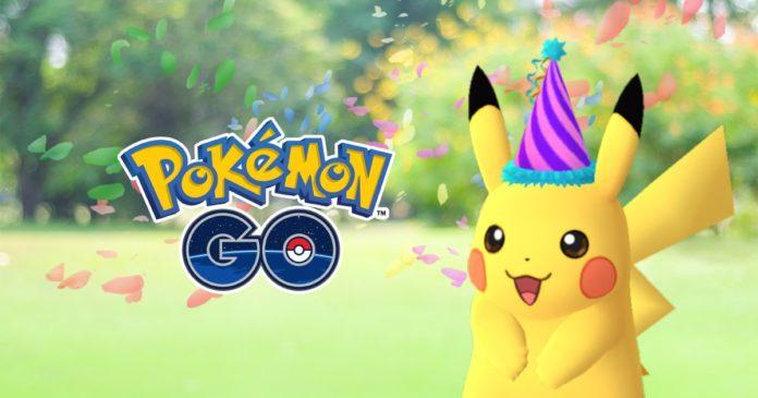 Party Pikachu Pokemon GO